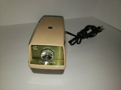 Panasonic Kp-33a Point-o-matic Electric Pencil Sharpener Vintage Japan
