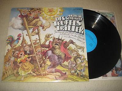 Andreas Scheinert - Des Teufels Triller   Vinyl  LP Litera