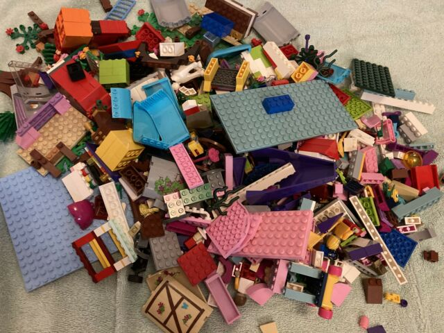 Variety of Lego Friends Pieces: People, Plates, Bricks ...