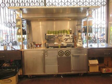 mobile cafe cart The Rocks Inner Sydney Preview