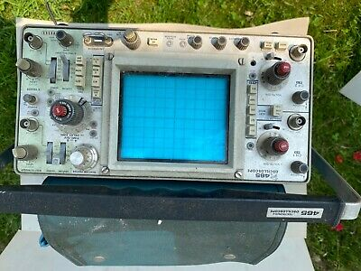Tektronix 465 100 Mhz Working Oscilloscope Parts Only Might Work