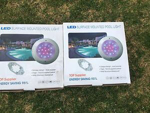 Swimming pool/spa lights Clarence Park Unley Area Preview