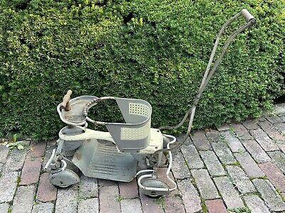 Antique WINDSTREAM Fenders Wheels Metal Baby Stroller Walker 50s60s Taylor Tot