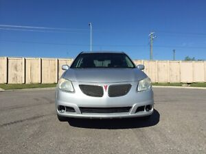 2005 Pontiac Vibe Silver. 5spd manual