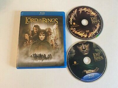 The Lord of the Rings: The Fellowship of the Ring (Bluray/DVD 2001)[BUY 2 GET 1]