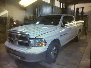 Parting out 2011 Dodge Ram 1500 crew cab