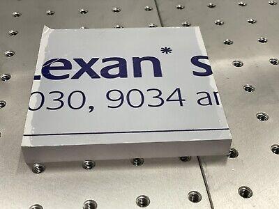 Lexan Polycarbonate Sheet Clear 12 X 4.15 X 4.2