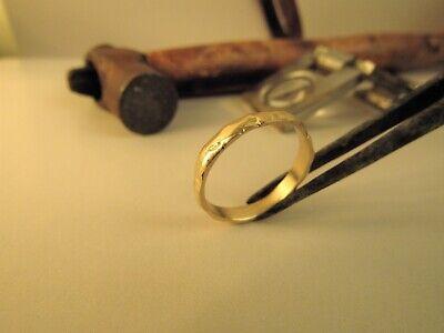 Boda Banda 14k Oro Amarillo Alianza para Hombre/Woman. Unisex Alianza