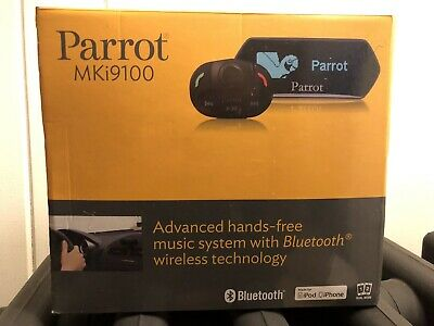 Brand New, Unboxed Parrot MKI9100 Bluetooth Car Kit. Security seal intact.