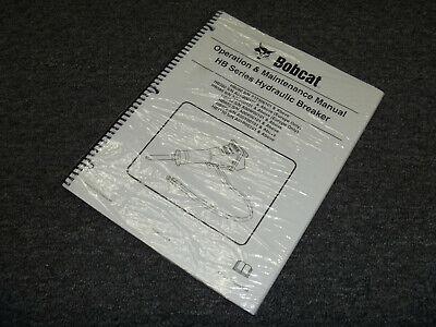 Bobcat Hb1180 Hydraulic Breaker Owner Operator Maintenance Manual