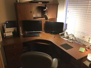 Costco solid desk