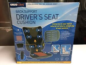 ObusForme Back Support Driver's Seat Cushion