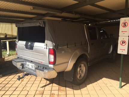 Navara d22 canvas canopy  Seville Grove Armadale Area Preview