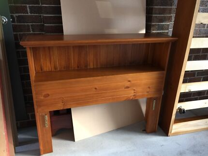 Pine KS slat bed with trundle. Montmorency Banyule Area Preview