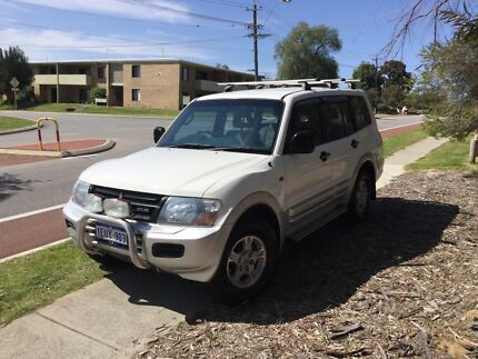 Pajero 2002 manual, 3.2 turbo diesel - very low price! 4WD now working Tuart Hill Stirling Area Preview