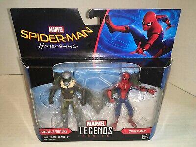 """Marvel Legends Spider-Man Homecoming 3.75"""" SPIDERMAN & VULTURE FIGURE Set 2017"""