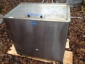 Industrial stainless steel chilling unit