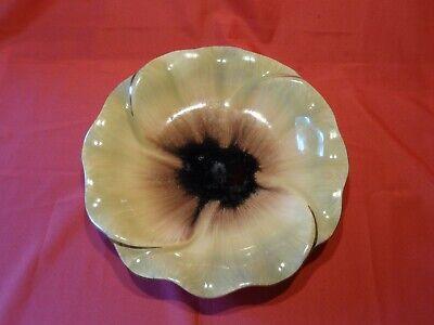 blumen-Dekor, 50er-Jahre, Keramik, gebraucht (Sonnenblumen-dekor)