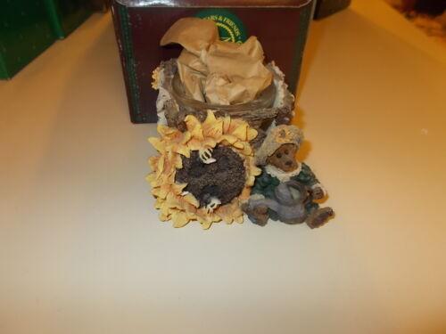 Boyds Bear & Friends Folkstones Liddy Pearl Votive 3E Candle Holder 27804