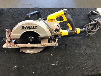 Dewalt Corded 7 14 Worm Drive Circular Saw Wblade Dws535b