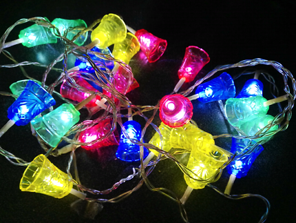 Christmas lights - power