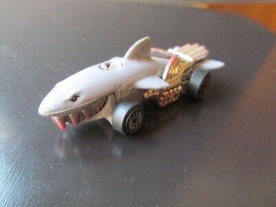 """MATTEL Hot Wheels 1986 Sharkruiser Speed Demons, 3"""" Diecast Metal Shark Toy Car"""