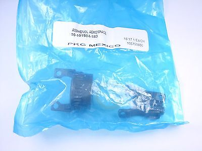 10-101984-183 Amphenol Straight Cable Clamp Connector Backshell Size 18 34 Nos
