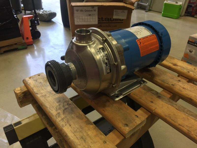 12 NEW Goulds Water / Xylem SS Centrifugal Pumps - 2ST1E5F4 NPE Series
