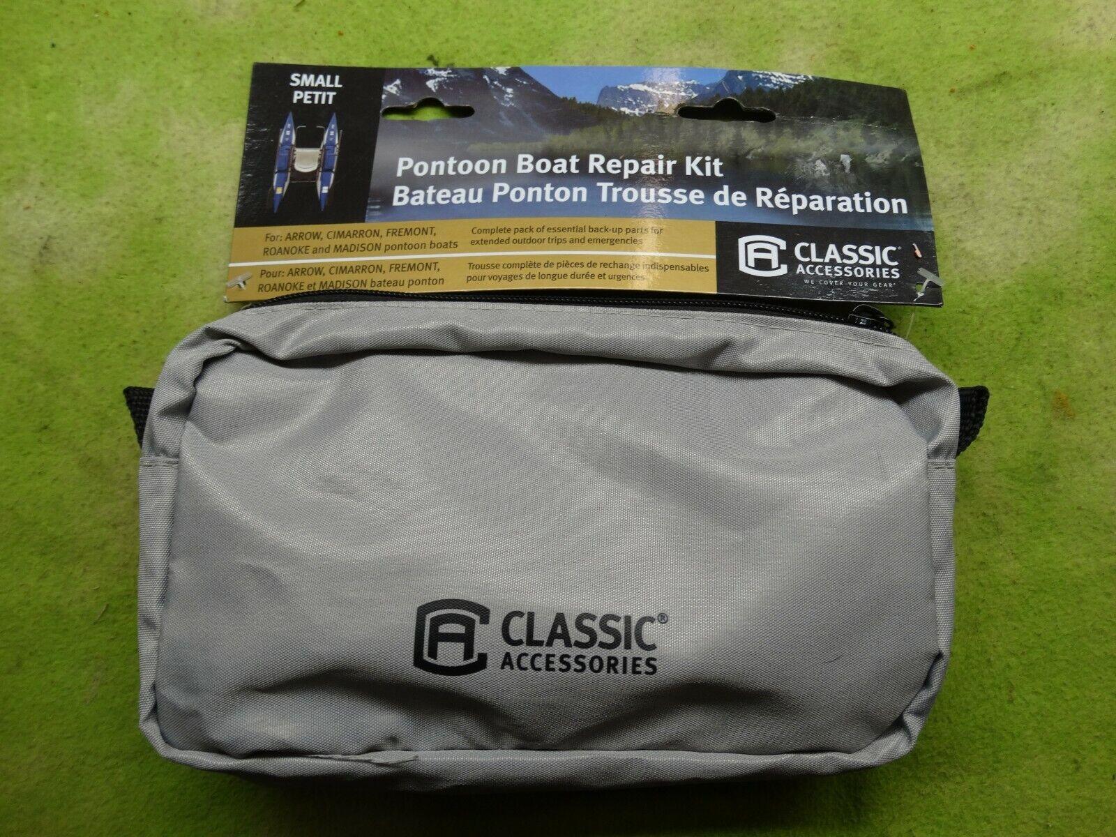 Classic Accessories Small Pontoon Boat Repair Kit - Gray