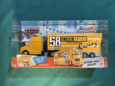 NEW Disney Pixar Cars Octane Gain HAULER 58 rare #4 Semi Truck Big Rig *see Desc