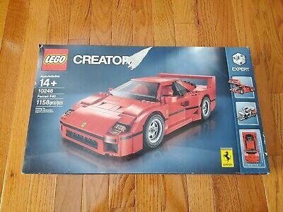 Lego Creator 10248 Ferrari F40 Building Set - Retired - BOX DAMAGE
