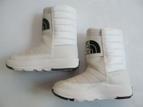 The North Face Ozone Park Winter Pull On woman white shoes boots  Brand New