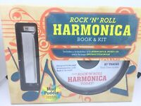 rock /'n/' roll harmonica book and kit