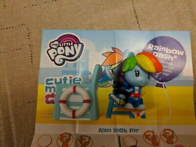 My Little Pony Cutie Mark Crew Series 4 Bright Colors Rainbow Dash EG Lifeguard](Rainbow Dash Colors)