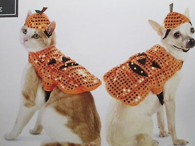 New with Tag for Sale - Pet Costume  - LED Pumpkin ( Size :XS )