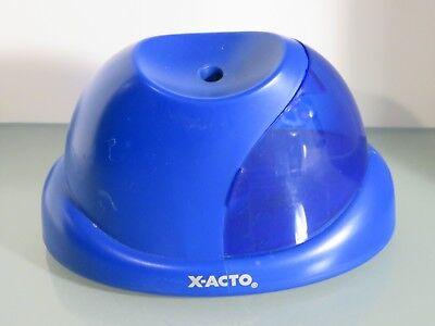 X-acto V2 Battery Pencil Sharpener Blue 16772 B8