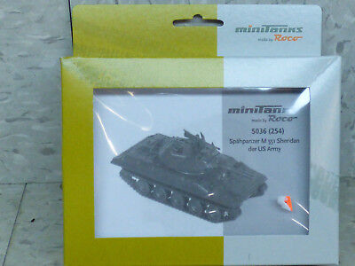 Roco Minitanks (NEW) 1/87 Modern US M-551 Sheridan Light Scout Tank Lot 268X, used for sale  Chicago