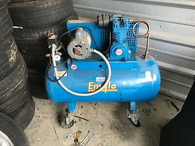 Emglo K15S-30S Air Compressor works well See Pictures