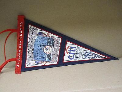 Yankees 2002 Commemorative Pennant Citi Employee Day