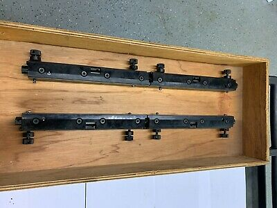 Shinohara Printing Press 66 V New Plate Clamps In The Box Superior Offset