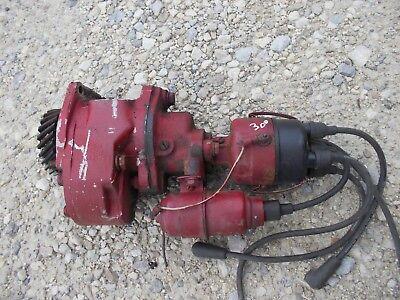 Farmall 300 350 Ih Ihc Tractor Live Hydraulic Pump W Drive Gear Distributor D