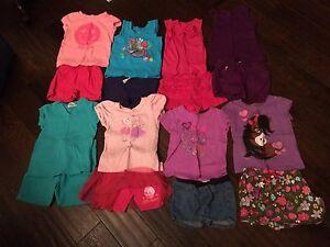 Girls 3tsummer clothing lot