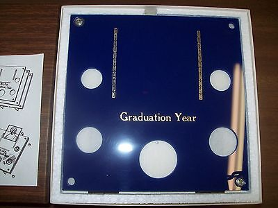 Capital Plastics   310 In Blue For Graduation Year Coins  Stand Up Holder