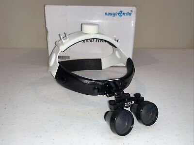 Dental Surgical Loupes Easyinsmile Binocular Loupe 2.5x 460mm Head Type