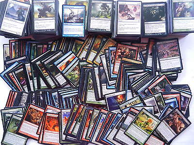 10000 COMMONS MAGIC THE GATHERING englisch sammlung common mtg deck