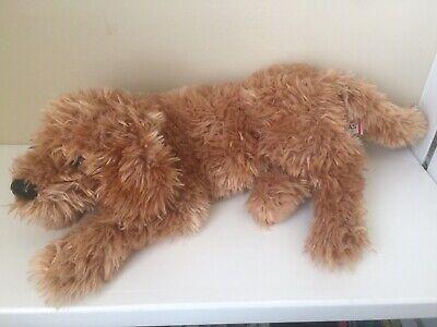 Douglas Cuddle Toys Golden Retriever Labrador Plush Puppy Dog Tan 2015 Hard Nose for sale  Shipping to Canada
