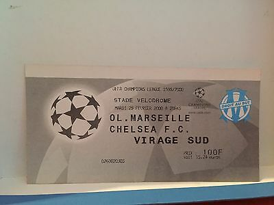 Football Ticket - UEFA - OM Olympique Marseille - Chelsea FC - Champions league