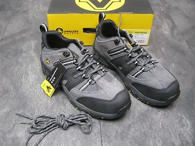 AMBLERS SAFETY SHOE IN GREY - STYLE FS188N - SIZE 9 - NEW IN BOX