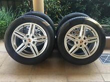 "19"" GENUINE PORSCHE CAYENNE WHEELS & 265 50 R19 VW TOUAREG + AUDI Kew Boroondara Area Preview"