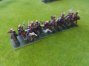 1/72 20mm painted Napoleonic Russian Uhlans